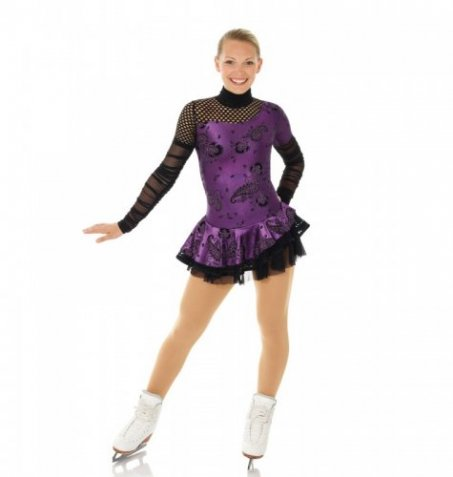 665 Cabaret Dress Purple