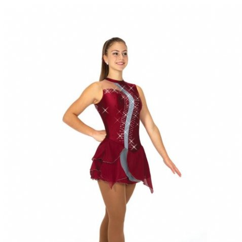 141 Cascade Dress - Pewter Wine