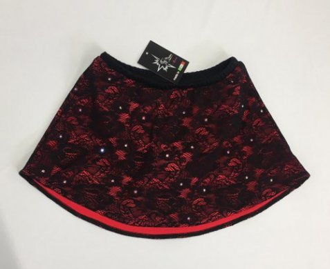 216-Lace Skirt Bicolor