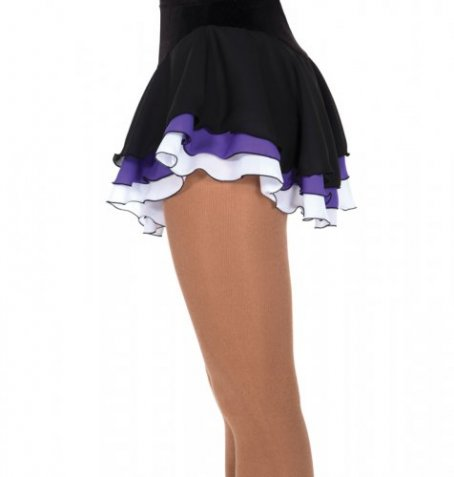 304 Triple Ribbon Skirts - Grape