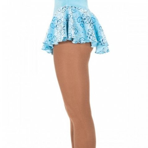307 Filigree Skirt Crystal Blue