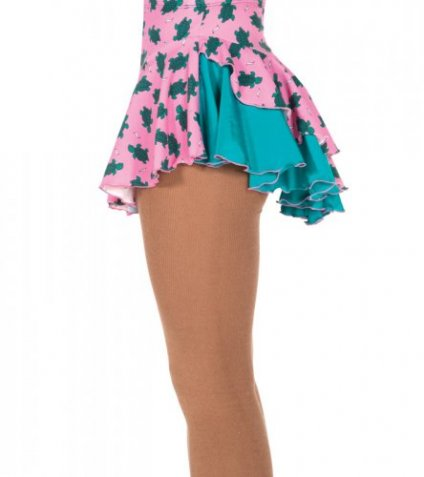 507 Double Back Skirt - Pink Turtle