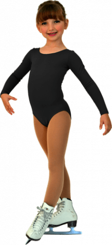 ChloeNoel Longsleeved Black Leotard
