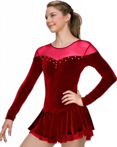 DLV04 Red Dress