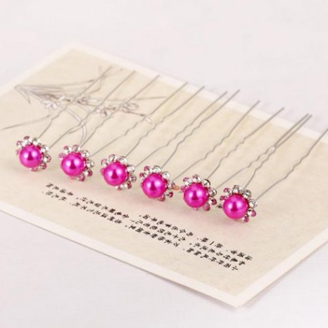 Hair Pin Pearl 5 pieces