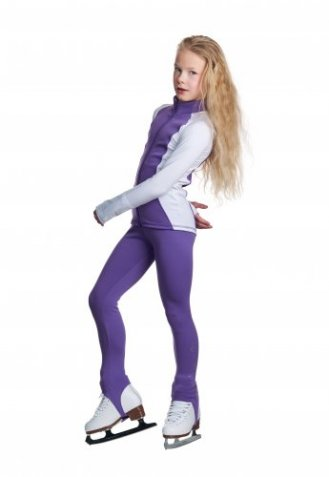 J26 Dynamic Jacket Purple and White