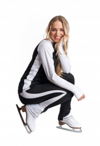 J26 Dynamic Jacket Black and White
