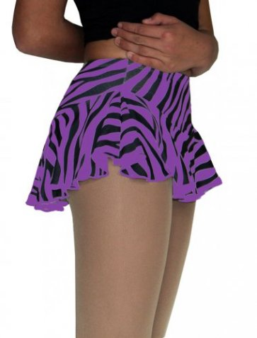 K-02 Purple Zebra skirt