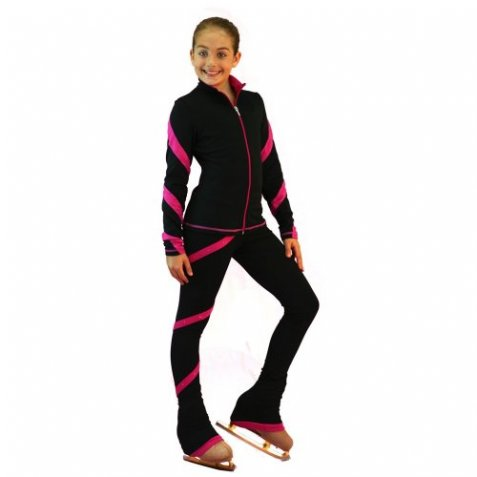 Spiralpants light weighted fleece Fuchsia