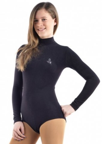 120 Black leotard