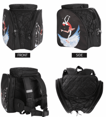 Chameleon Black Backpack