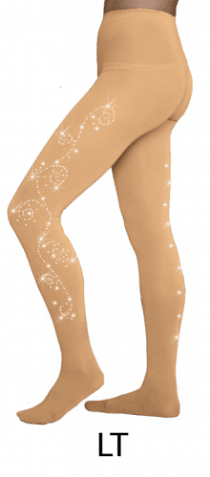 8830 Crystal Swirl tights