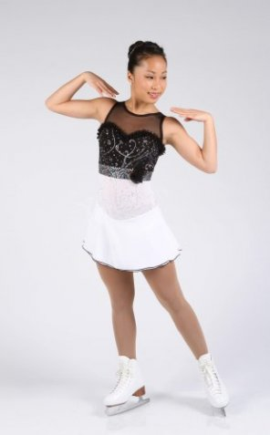 XP1620 Black & White Dress