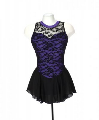 133 Overlace Dress Purple