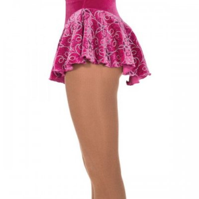 307 Filigree Skirt Fuchsia