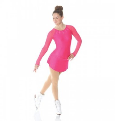 639 Shocking Pink Dress