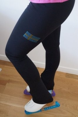 P7 Leggins Swedish Flag