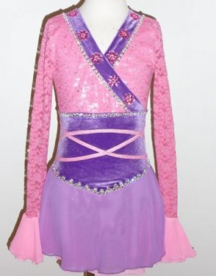 Mulan Figure skating dress