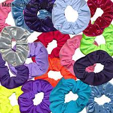 Hair scrunchies lycra