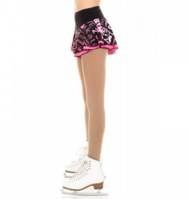 1601 SK8 Double layered skirt Pink
