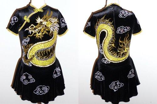 Dragon Custom Made To Fit Ice Skating Dresses Dresses